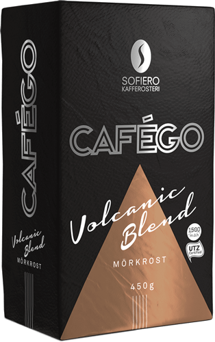 Volcanic blend package in product page
